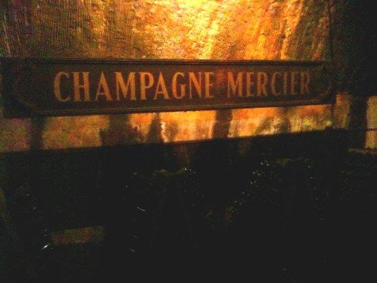 Mercier: in den Kellern von