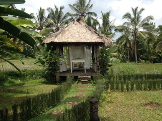 Hati Padi Cottages: The massage parlour