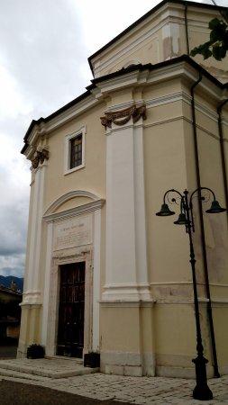 Civita d'Antino, Италия: la chiesa...