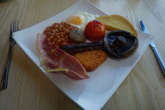 Port William Inn: The lovely breakfast I was served