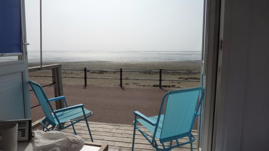 Lytham St Anne's, UK: A view from the hut