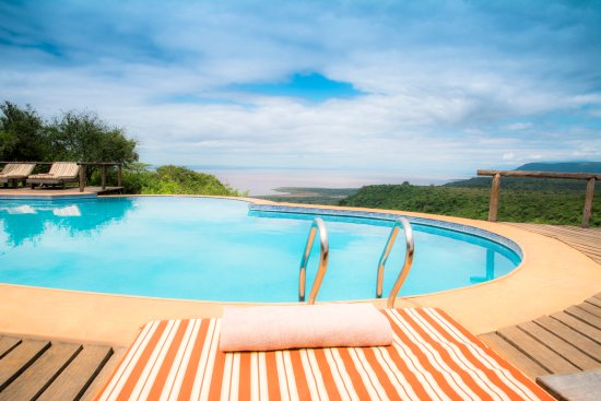 Escarpment Luxury Lodge - Luxury Chalet - Pool Views