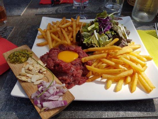 Vagnas, Fransa: Tartare à la Fourchette