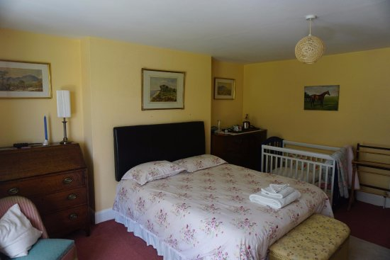 Stokenham, UK: The large double room I stayed in