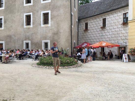 Blatna, República Checa: Koncert na nádvoří