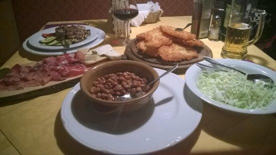 Cunevo, İtalya: Tortei di patate