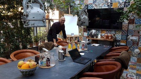 Carlton Guldsmeden - Guldsmeden Hotels: Superhyggeligt orangeri til møder op til 8-10 personer