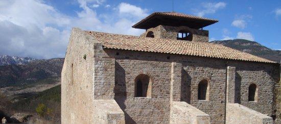 Guardiola de Bergueda, İspanya: Vista del Monastir de Sant Llorenç