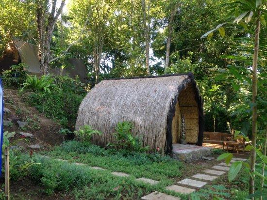 Tetebatu, Indonesien: the traditional sasak lumbung room