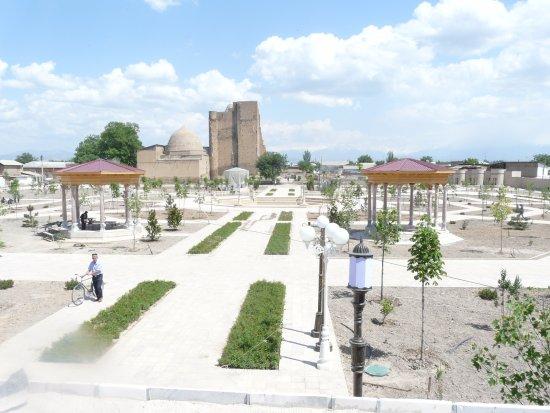 Shakhrisabz, Usbekistan: Pavilions and fountains