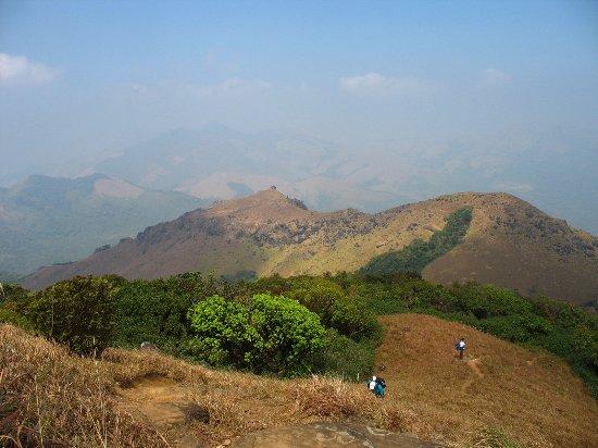 Kodagu (Coorg), India: Breathtaking view from the top of Thadiyandamol hills