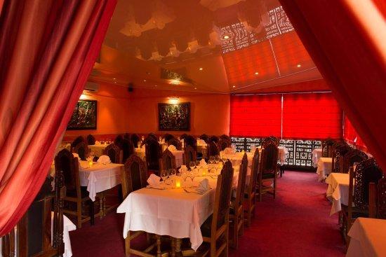Gaillard, Frankrike: Restaurant Rameeka