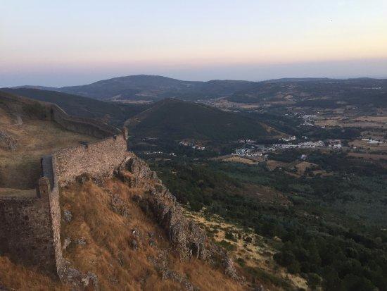 Portagem, البرتغال: View from Castelo de Marvao