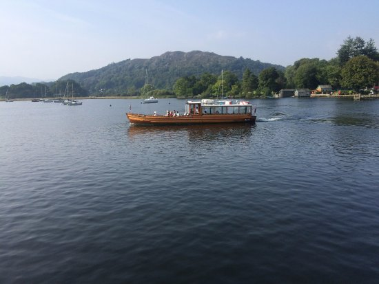 Bowness-on-Windermere, UK: from the ferry