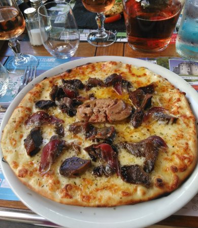 Montboyer, فرنسا: Pizza Landaise