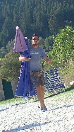 Stavros, Grecja: The man ,the beach & the legend-TAKIS