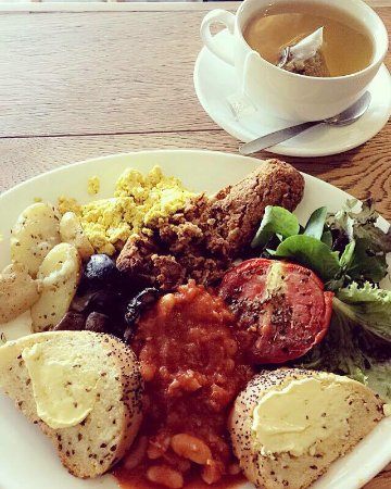 Vegan Full English Breakfast Picture Of Campbells Canal Cafe