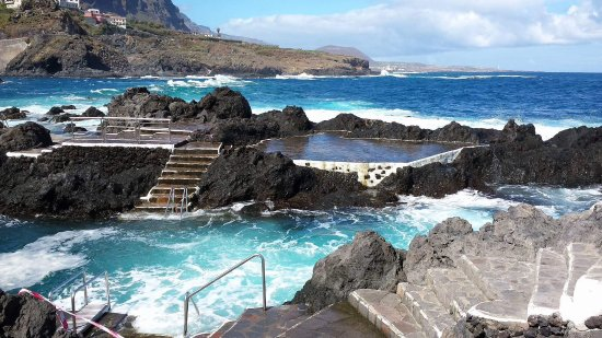 Meerwasserschwimmbad picture of piscinas naturales el for Piscina natural tenerife