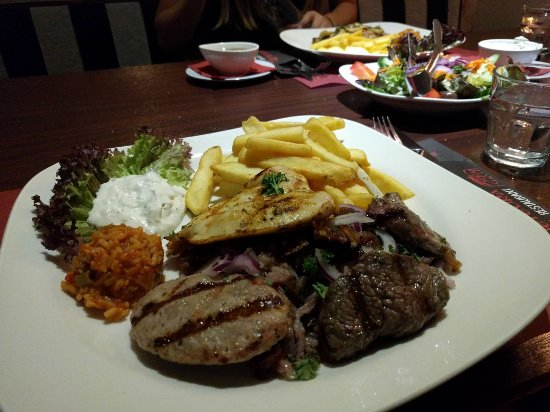 Heerenveen, Nederland: Mixed grill