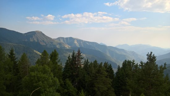 La Bollene Vesubie, Francia: Juste un peu plus haut que l'hôtel