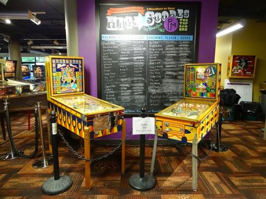 Center in the Square: pinball machine museum
