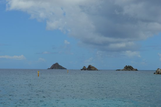 Oyster Pond, St. Maarten: Volcanic Islands off St. Barth's