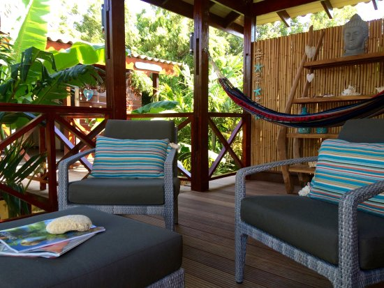 "Bamboo Bali Bonaire Resort: Private cabana ""Between the Trees""1"