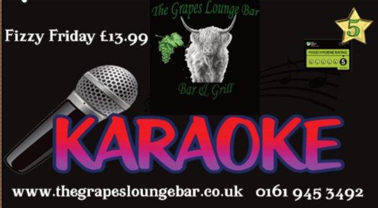 Stor-Manchester, UK: Karaoke