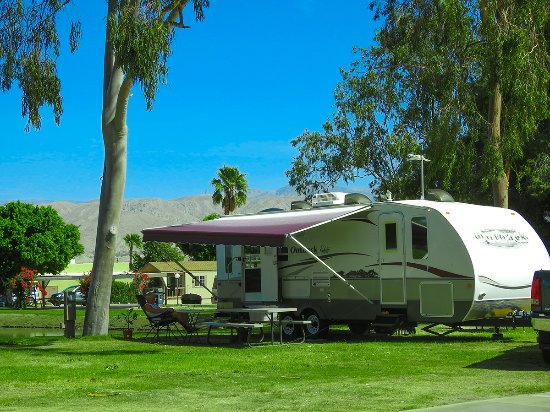 Shadow Hills RV Resort: Trailer Rental