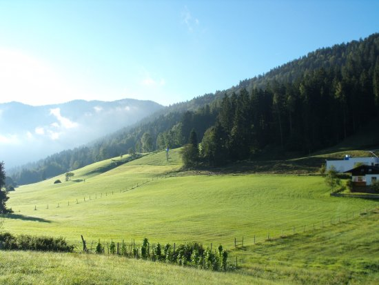 Hinterthiersee, Österreich: View from Our Balcony