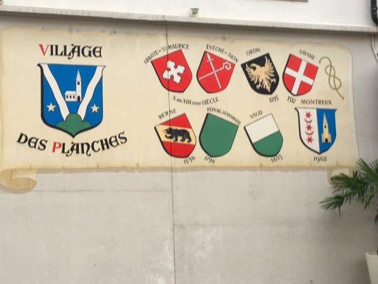Vieille-Ville de Montreux: Civic plaques