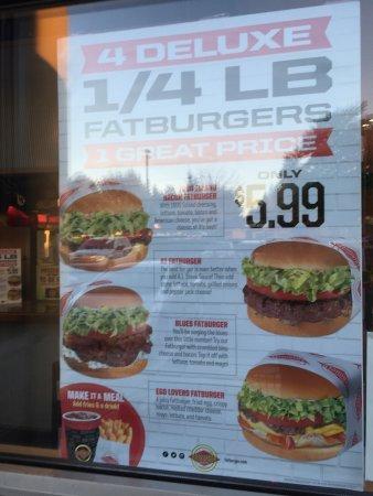 Редмонд, Вашингтон: Fatburger in Redmond