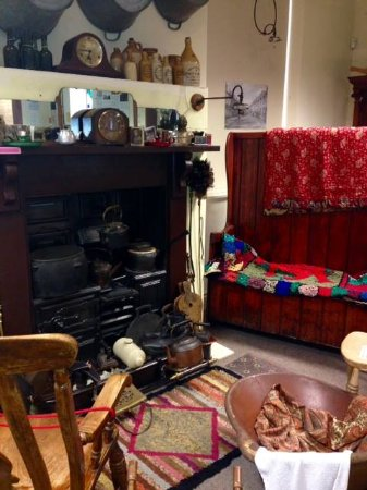 Pontypool, UK: a gallery with homes of the past