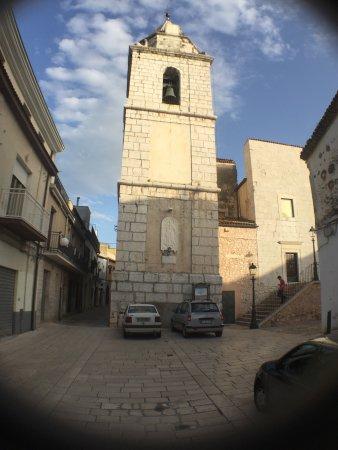 San Nicandro Garganico, איטליה: Facciata della chiesa di Santa Maria del Borgo