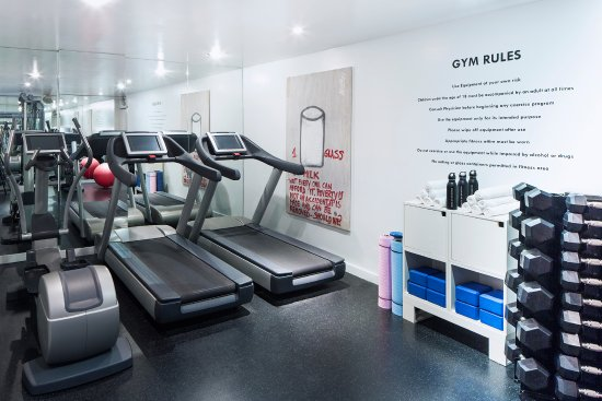 Fitness center picture of hotel on rivington new york city