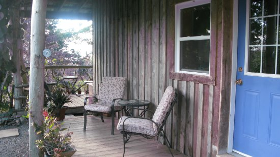 New Horton, Canada: The porch in front of one of the rooms