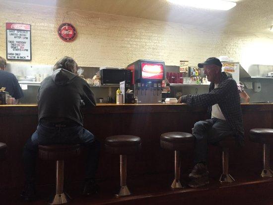 La Grande, Орегон: Diner-style bar