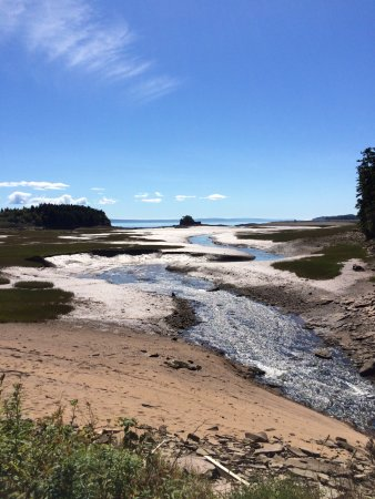 New Horton, Kanada: The beach a short walk from the B&B