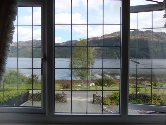 Views of Loch Goil from the rooms at Rowan House