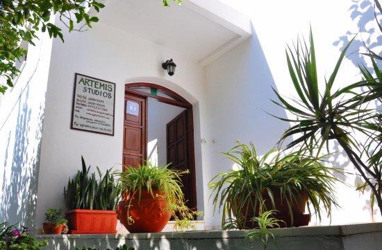 Agia Roumeli, กรีซ: Entrée des studios Artemis