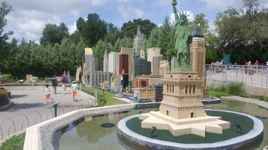 LEGOLAND Florida Resort: You could spend hours walking around checking out the models alone! AMAZING!