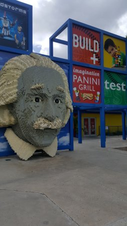 LEGOLAND Florida Resort: The indoor play place was awesome! Great paninis too!