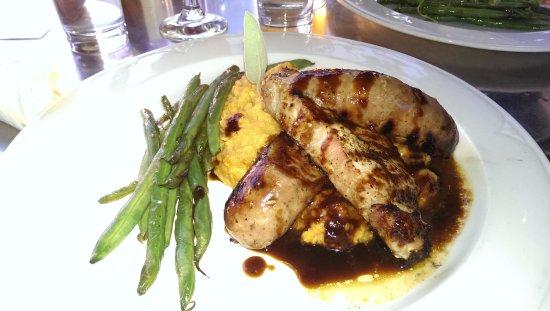 Hector, NY: Pork chop special
