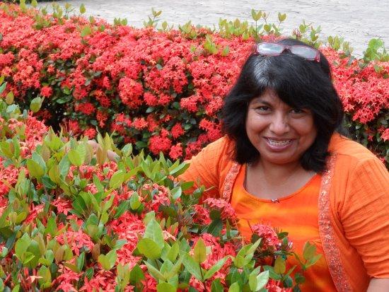 Hotel Aqua Spa & Resort: Beautiful flowers