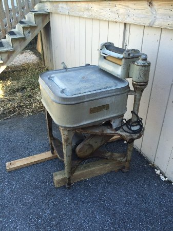 New Holland, Pensilvania: antique washer