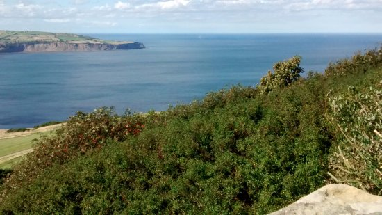 Ravenscar, UK: View over the sea