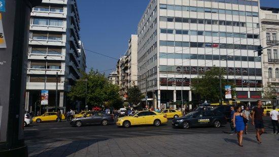 Athens Diamond Homtel: Syntagma Square