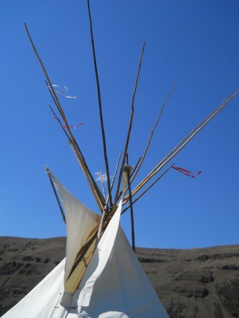 Nez Perce National Historical Park: The visitors center film and displays were very interesting and informative