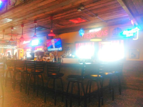 Athens, TX: Great bar