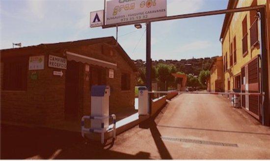 Montferrer, Испания: Entrada principal
